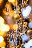 рождество bauble предпосылки 3d составило фотографическое реальное представляет Стоковая Фотография RF