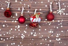 рождество III предпосылки Стоковые Фотографии RF