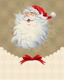 Рождество SaRetro Стоковое Изображение