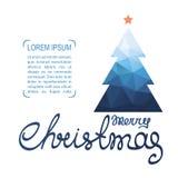 Рождество tree-17 иллюстрация штока
