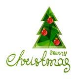 Рождество tree-14 иллюстрация вектора