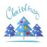 Рождество tree-18 Стоковое Изображение RF