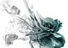 Роза от дыма стоковое фото