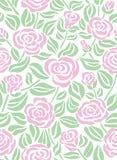 роза предпосылки безшовная Стоковое Фото