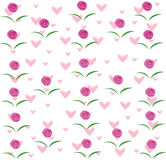 Роза рамки Стоковое Фото