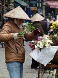 Роза-резцы & триммеры в Вьетнаме Стоковое Фото
