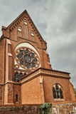 Розетка Нео-готической церков Стоковые Фотографии RF