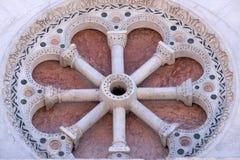 Розетка Сан Мишели в церков Foro в Лукке, Италии Стоковая Фотография