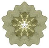 розетка guilloche Стоковая Фотография RF