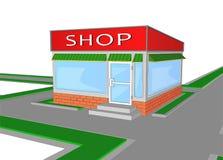 Розничный магазин мини магазина магазина рынка Стоковое Изображение RF