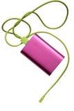 Розовая батарея банка Стоковая Фотография RF
