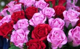 Розовая бумага шелковицы стоковые изображения rf