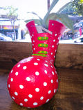 Розовая ваза Стоковое Изображение RF