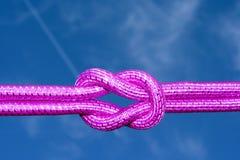 розовая веревочка стоковые фото