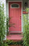 Розовая дверь Стоковое Изображение RF