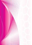 розовая волна Стоковые Фото
