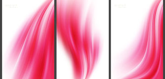 Розовая высокотехнологичная абстрактная предпосылка Стоковые Изображения RF