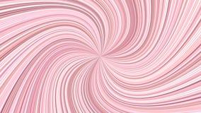 Розовая геометрическая абстрактная предпосылка свирли от изогнутых лучей Стоковая Фотография