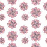 Розовая геометрическая текстура форм Стоковые Изображения RF