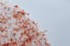 Розовая гималайская каменная соль Стоковые Изображения