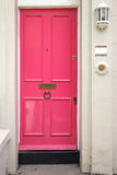 Розовая дверь Стоковое фото RF