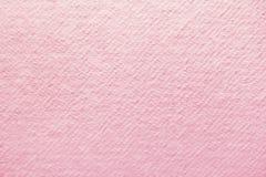 Розовая предпосылка handmade бумаги Стоковое Изображение