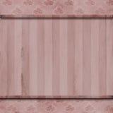 Розовая деревянная предпосылка обоев Стоковые Фото