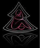 розовая женщина вала Стоковое Фото