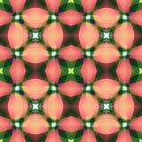 Розовая зеленая современная абстрактная текстура Детальная иллюстрация предпосылки Безшовная плитка Домашний образец дизайна ткан Стоковая Фотография RF