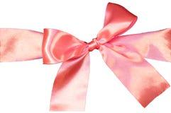 Розовая изолированная тесемка Стоковые Фото