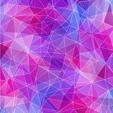 Розовая и голубая кристаллическая текстура, абстрактная предпосылка бесплатная иллюстрация