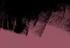 Розовая и черная текстура предпосылки моды краски с ходами щетки grunge стоковая фотография