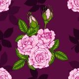 Розовая картина вручную рисуя Стоковое Фото
