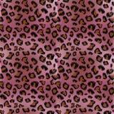 Розовая картина леопарда Стоковая Фотография