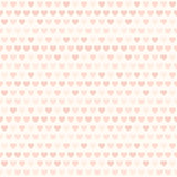 Розовая картина сердца Безшовная предпосылка влюбленности вектора Стоковая Фотография