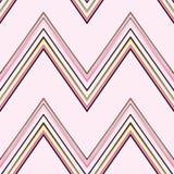 Розовая картина Шеврона Стоковые Изображения RF