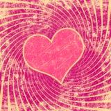 Розовая картина иллюстрация штока