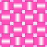 Розовая карточка лент иллюстрация штока