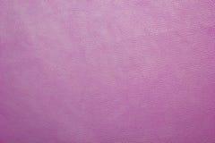 Розовая кожаная искусственная предпосылка текстуры Стоковая Фотография