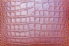Розовая кожаная текстура предпосылки или текстуры кожаная. Стоковые Изображения RF