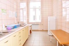 Розовая комната в клинике Стоковые Фотографии RF