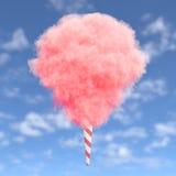 Розовая конфета хлопка иллюстрация вектора