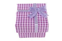 Розовая коробка Стоковое Изображение RF