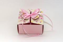 Розовая коробка Стоковая Фотография RF