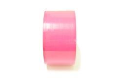 Розовая клейкая лента Стоковое Изображение