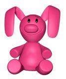 розовая марионетка иллюстрация вектора