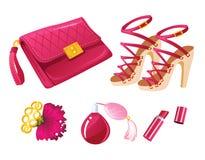 Розовая мода Стоковое фото RF