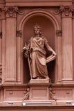 Розовая мраморная статуя Стоковые Фото