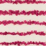 Розовая нашивка сделанная от лепестков Стоковые Фотографии RF