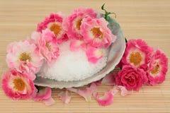 Розовая обработка спы Стоковые Изображения